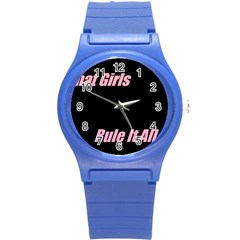 Petchatgirlsrule Plastic Sport Watch (small)