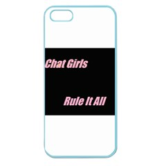 Petchatgirlsrule Apple Seamless iPhone 5 Case (Color)