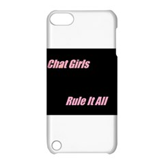 Petchatgirlsrule Apple iPod Touch 5 Hardshell Case with Stand