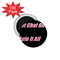 Petchatgirlsrule2 1 75  Button Magnet (100 Pack)