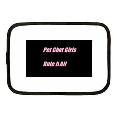 Petchatgirlsrule2 Netbook Case (Medium)