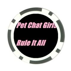Petchatgirlsrule2 Poker Chip 10 Pack