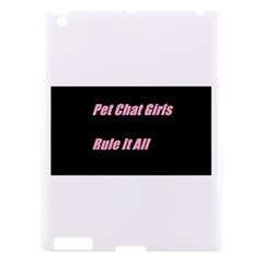 Petchatgirlsrule2 Apple iPad 3/4 Hardshell Case