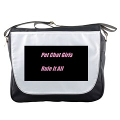 Petchatgirlsrule2 Messenger Bag