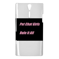 Petchatgirlsrule2 Sony Xperia S Hardshell Case