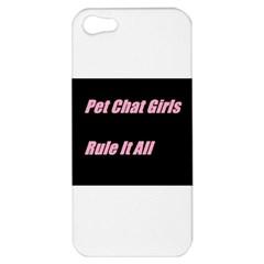Petchatgirlsrule2 Apple iPhone 5 Hardshell Case