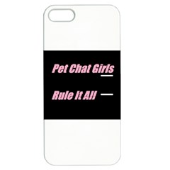 Petchatgirlsrule2 Apple iPhone 5 Hardshell Case with Stand