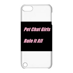 Petchatgirlsrule2 Apple Ipod Touch 5 Hardshell Case With Stand