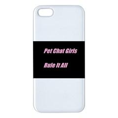 Petchatgirlsrule2 Iphone 5 Premium Hardshell Case