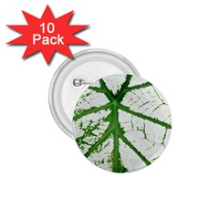 Leaf Patterns 1.75  Button (10 pack)