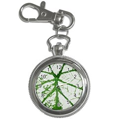 Leaf Patterns Key Chain & Watch
