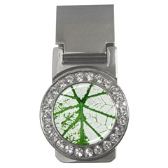 Leaf Patterns Money Clip (CZ)