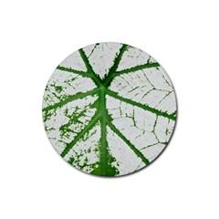 Leaf Patterns Drink Coaster (round)
