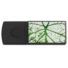 Leaf Patterns 2GB USB Flash Drive (Rectangle)