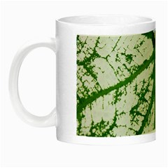 Leaf Patterns Glow in the Dark Mug