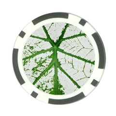 Leaf Patterns Poker Chip