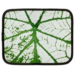 Leaf Patterns Netbook Case (Large)