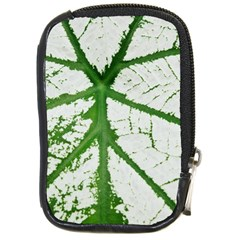 Leaf Patterns Compact Camera Leather Case