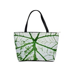Leaf Patterns Large Shoulder Bag
