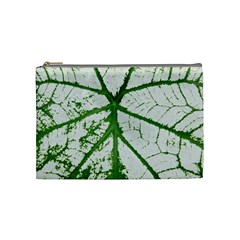 Leaf Patterns Cosmetic Bag (medium)