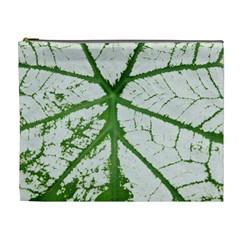 Leaf Patterns Cosmetic Bag (XL)