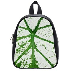 Leaf Patterns School Bag (Small)