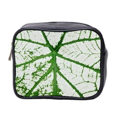 Leaf Patterns Mini Travel Toiletry Bag (Two Sides)