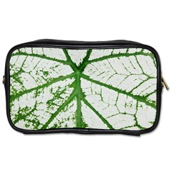 Leaf Patterns Travel Toiletry Bag (one Side)