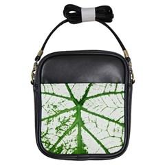 Leaf Patterns Girl s Sling Bag