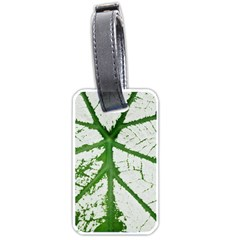 Leaf Patterns Luggage Tag (one Side)