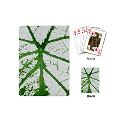 Leaf Patterns Playing Cards (Mini)