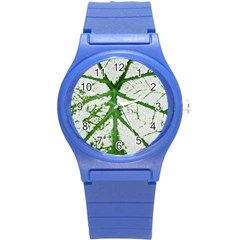 Leaf Patterns Plastic Sport Watch (Small)