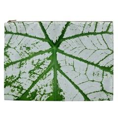 Leaf Patterns Cosmetic Bag (xxl)
