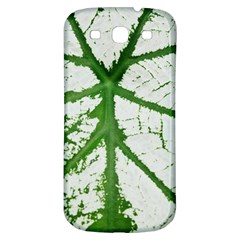Leaf Patterns Samsung Galaxy S3 S III Classic Hardshell Back Case