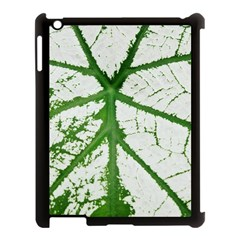 Leaf Patterns Apple iPad 3/4 Case (Black)