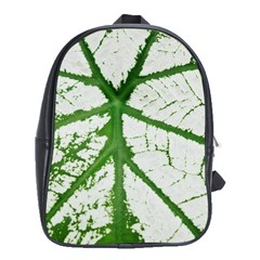 Leaf Patterns School Bag (XL)