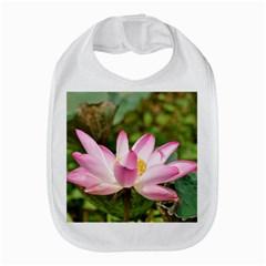 A Pink Lotus Bib