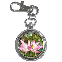 A Pink Lotus Key Chain & Watch