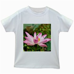A Pink Lotus Kids' T Shirt (white)
