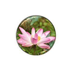 A Pink Lotus Golf Ball Marker 4 Pack (for Hat Clip)