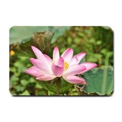 A Pink Lotus Small Door Mat
