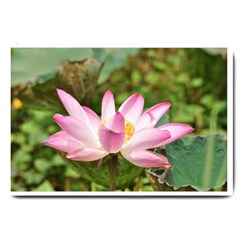 A Pink Lotus Large Door Mat