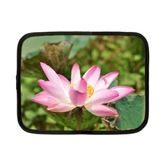 A Pink Lotus Netbook Case (Small)