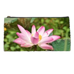 A Pink Lotus Pencil Case