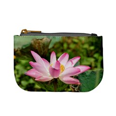 A Pink Lotus Coin Change Purse