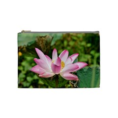 A Pink Lotus Cosmetic Bag (medium)