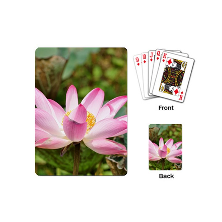 A Pink Lotus Playing Cards (Mini)