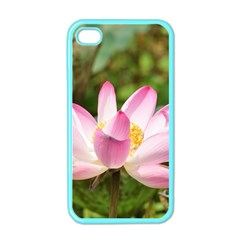 A Pink Lotus Apple Iphone 4 Case (color)