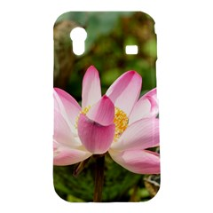 A Pink Lotus Samsung Galaxy Ace S5830 Hardshell Case