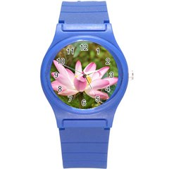 A Pink Lotus Plastic Sport Watch (Small)